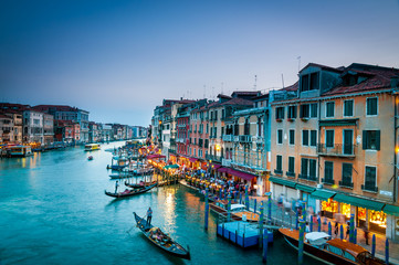 221- Grand Canal venice Colorful