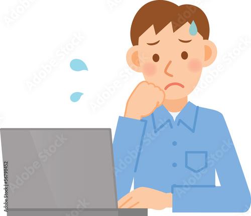 男性 PC