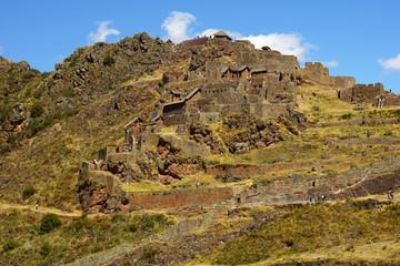 Pisac ruins. Cusco, Peru