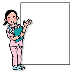 看護師とコピースペース