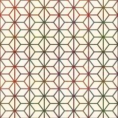 seamless geometric lines pattern
