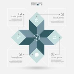 Modern Infographics, vector illustration.