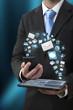 Transfert de données entre un téléphone et une tablette