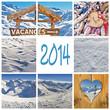 2014, collage vacances d'hiver