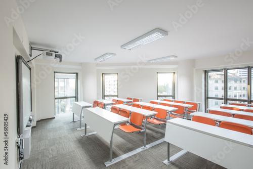 In de dag Oost Europa Modern classroom