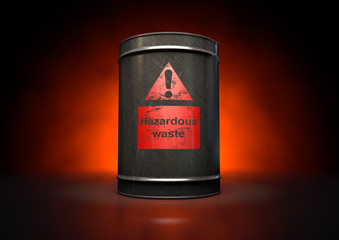 Hazardouz Red Barrel