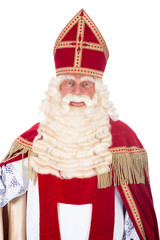 Portrait of Sinterklaas