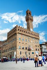 Florence, Palazzo Vecchio and Piazza della Signoria