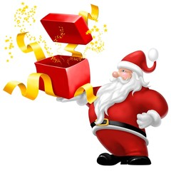 babbo natale pacco