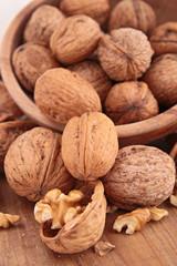heap of walnut