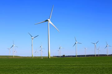 Windpark am Deich