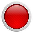 Button rund rot