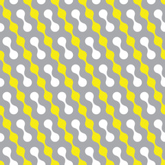 Seamless vector geometric pattern.