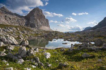 Small lake at Triglav Lakes Valley