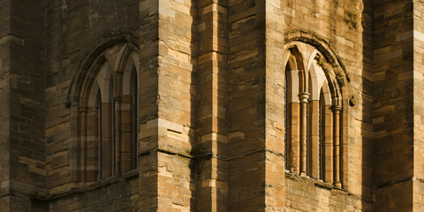 ELGIN CATHEDRAL, LAYERS OF SHADOW