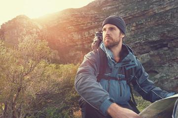 adventure man portrait