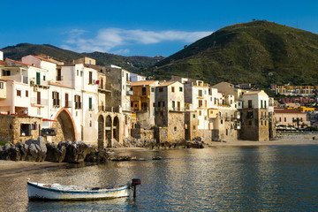 Harbor of Cefalu