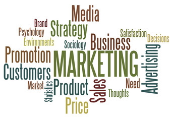 Word Cloud : Marketing