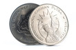 Tunku Abdul Rahman Putra $1 Malaysia Coin.