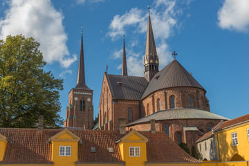 Roskilde Cathedral in Denmark