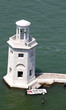 lighthouse on the island of San Giorgio in Venice