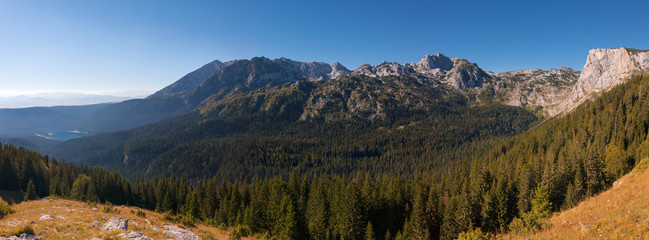 Panoramic landscape. Durmitor National Park - Montenegro 2