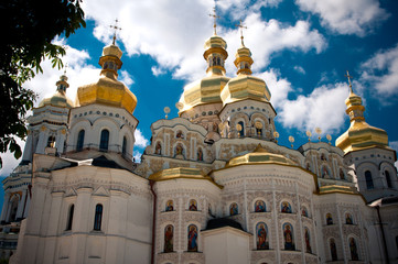 Chiesa di tutti i santi a Kiev Pechersk Lavra