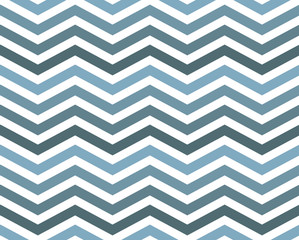 Blue Zigzag Pattern Background