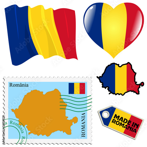 national colours of Romania