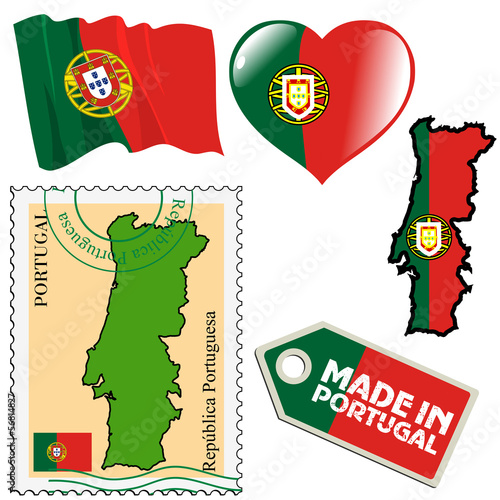 national colours of Portugal