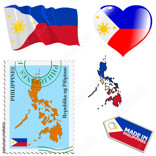 national colours of Philippines