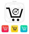 Convenience store icon.