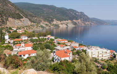 Ilia village, North Euboea, Greece