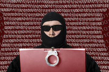 Computerkriminalität - Hacker am PC