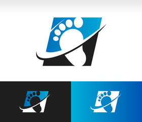 Swoosh Foot Icon