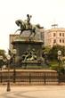 Die Statue von D. Pedro I im Zentrum von Rio de Janeiro