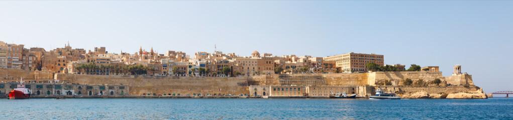 panorama of Valletta Malta 2013
