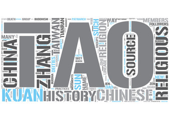 I-Kuan Tao Word Cloud Concept