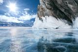 Fototapety  Lake Baikal in winter