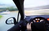 Fototapety Danger fast drivin