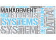 Management information systems Word Cloud Concept