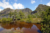Artist Pool, Cradle Mountain Nationalpark, Tasmanien, Australien