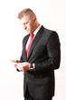 Young Businessman suit