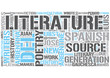 Argentine literature Word Cloud Concept
