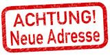 Neue Adresse Stempel rot  #131003-svg04