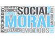 Moral psychology Word Cloud Concept
