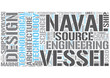Naval architecture Word Cloud Concept