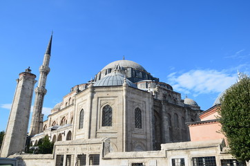 sehzade moschee in istanbul