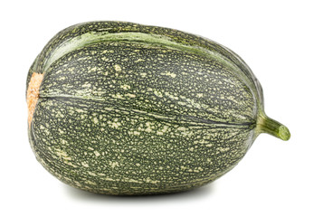 Single green ripe marrow