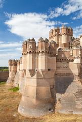Coca Castle,Segovia.
